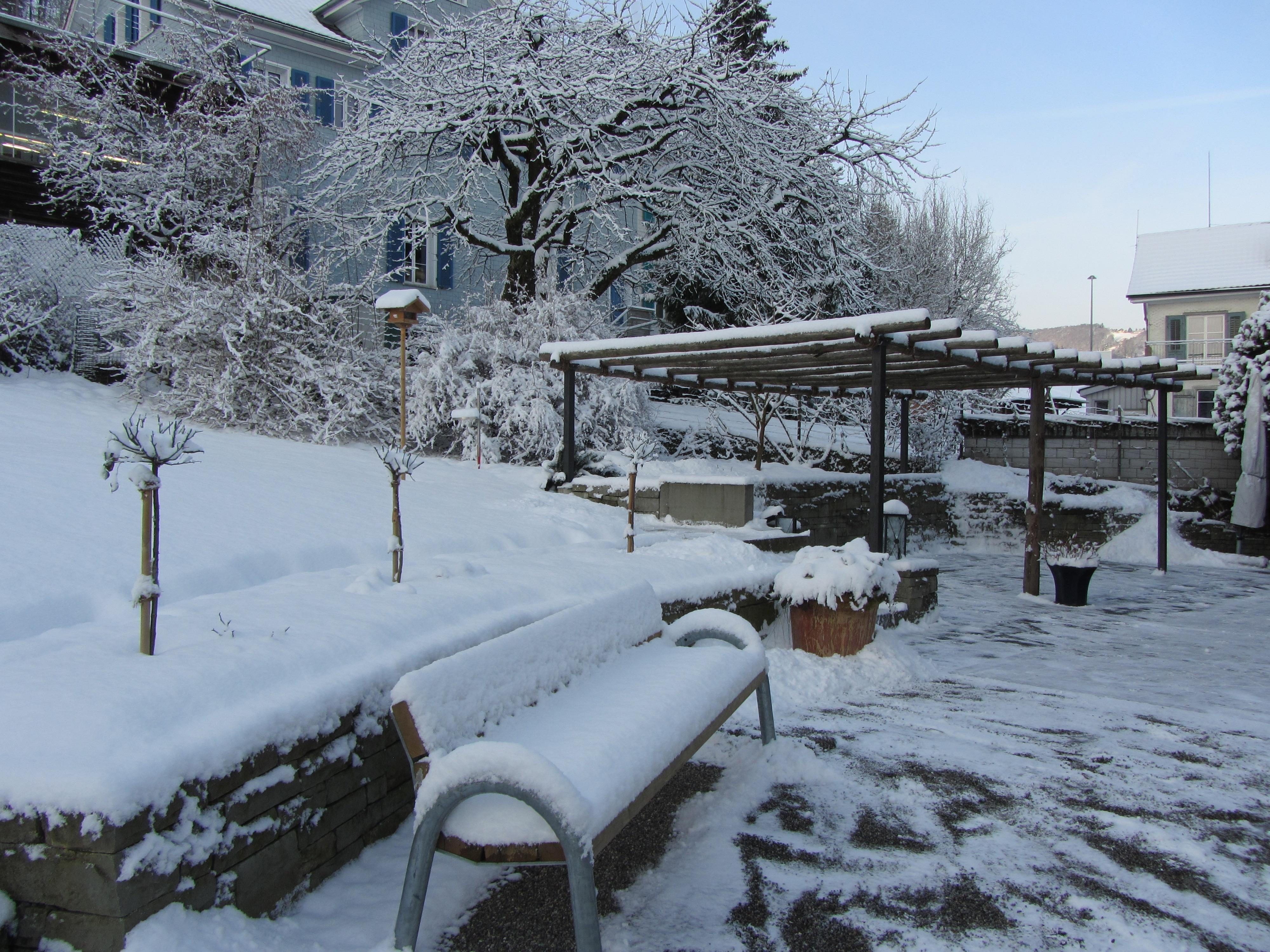 Februar gartenbau m der - Winter gartenbau ...